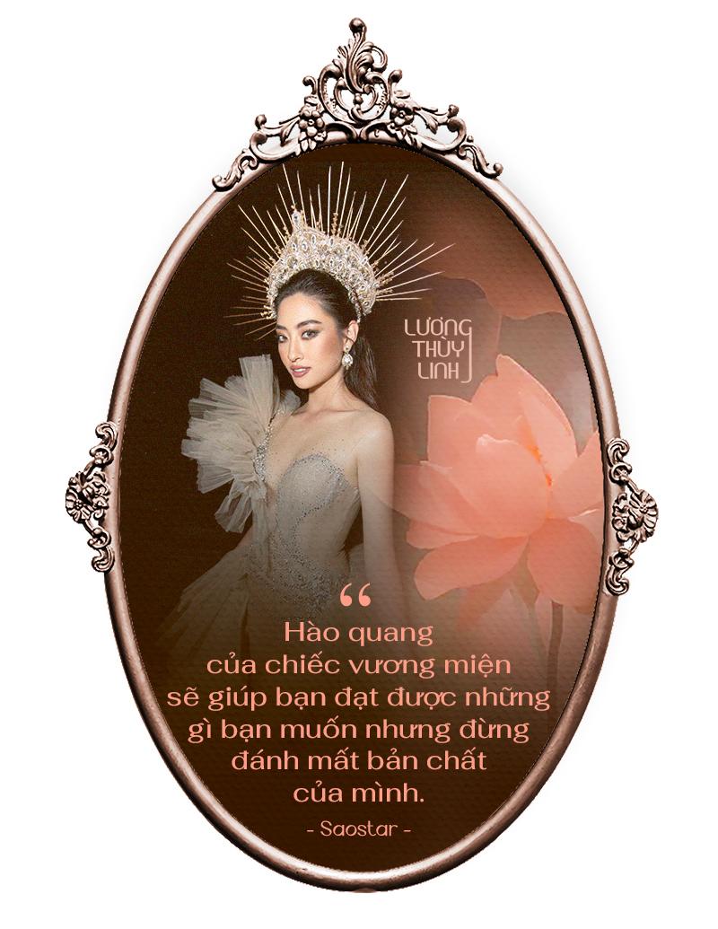 Lương Thùy Linh: 'Đôi lúc mệt mỏi vì gò mình theo chuẩn hoa hậu nhưng nhờ vậy, tôi trưởng thành hơn' Ảnh 11