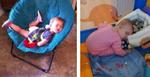 Đốn tim với bộ ảnh các em bé ngủ gật siêu dễ thương