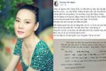 Dương Yến Ngọc đòi kiện và tung bằng chứng tiền sự phạm tội của Trang Trần