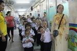 Ngày khai giảng đặc biệt ở bệnh viện Ung bướu