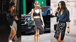 Slit skirt - chiếc váy kéo dài chân ưa thích của sao và hot teen