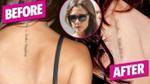 Vic xóa hình xăm vì Becks dính tiếng sét ái tình với siêu mẫu Playboy?