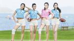 Thí sinh hoa hậu Hoàn vũ khoe dáng chuẩn với bóng bầu dục