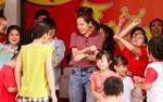 Chi Pu nhảy 'vũ điệu cồng chiêng' tưng bừng trong ngày hội Trung thu