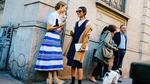 Đường phố Milan tỏa sáng với các fashionista