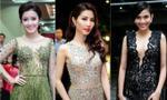 Dàn sao Việt rực rỡ khoe sắc trên thảm đỏ 'Hoa hậu Hoàn vũ 2015'