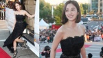 Kim Tae Hee khoe vai gầy trên thảm đỏ