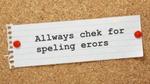 Con người hiếm khi phát hiện lỗi chính tả của bản thân khi đánh máy