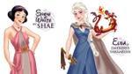Khi những nàng công chúa Disney tham gia 'Trò chơi vương quyền'