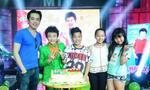 Dương Khắc Linh cùng Tiến Quang dự sinh nhật 'doraemon' Hoàng Anh