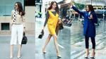 Thanh Hằng sành điệu với street style Thu Đông xuống phố