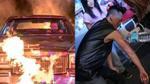 Lâm Phong bỏng nặng vì quay MV cháy nổ