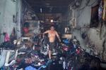 Cháy dữ dội hàng loạt kiốt ở quận 8, một người mất tích