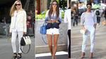 9 cách mix denim trắng đẹp như các fashionista thế giới