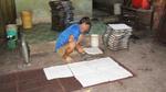 Cận cảnh 'công nghệ' sản xuất cơm cháy chà bông