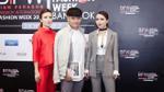 Song Yến cùng Tú Trung nổi bật ở thảm đỏ Bangkok International Fashion Week