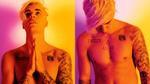 Justin Bieber khoe ngực trần phủ kín hình xăm