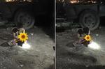Thanh niên 6 múi trộm gà bị chém và lột trần giữa đêm đông Hà Nội