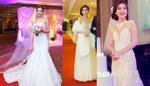 Diễm Trang lộng lẫy như công chúa trong lễ cưới kiểu châu Âu