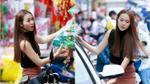 Cận Tết: Bắt gặp Diệp Bảo Ngọc lẻ loi một mình đi mua sắm