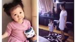 Clip: Elly Trần tập nhảy siêu đáng yêu cùng con gái