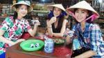 Á hậu Hong Kong bí mật đến Củ Chi nghỉ tết