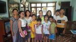 Cẩm Ly dẫn trò cưng Thiện Nhân đi từ thiện đầu năm