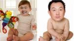 Bật cười thích thú với loạt hình ảnh Chí Tài hóa nhóc tì