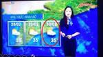Bản tin thời tiết ngày 30/2 gây lan truyền khắp mạng xã hội
