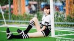 Thiếu nữ 13 tuổi cao 1m78, chân dài hơn cả siêu mẫu Thanh Hằng
