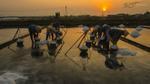 Ruộng muối Hòn Khói (Khánh Hòa) 'chễm chệ' trên trang tin quốc tế