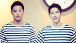 Fan mê tít trước độ 'xứng đôi' của hai chàng quân nhân Song Joong Ki và Jin Goo