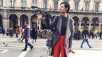 Thưởng ngoạn Milan qua ống kính smartphone của mẫu tomboy Đỗ Hà