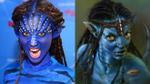 Khả Ngân khiến mọi người 'nổi da gà' với tạo hình của bộ phim nổi tiếng Avatar
