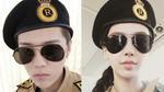 Luhan, Angelababy đồng loạt hóa trang 'đại úy' Yoo Shi Jin trong Running Man bản Trung