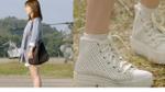 Song Hye Kyo tích cực lăng xê giày đế độn trong Hậu duệ mặt trời