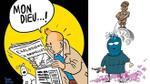 Thế giới mượn ảnh Tintin và 'cậu bé đứng tè' để động viên người dân Bỉ