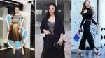 26/3: Angela Phương Trinh lăng xê mẫu váy xếp ly, Hồ Ngọc Hà diện cả cây Gucci xuống phố