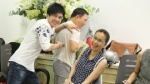 Quang Linh, Đan Trường, Cẩm Ly hội ngộ 'quậy tưng' buổi họp chuẩn bị Liveshow 1