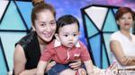Con trai Khánh Thi diện áo đỏ, đáng yêu 'cực độ' trên ghế nóng Vip Dance