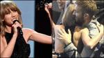 Taylor Swift tình tứ cùng Calvin Harris ngay trên sân khấu iHeartRadio Awards