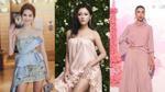 6/4: Ngọc Trinh, Trang Khiếu, Văn Mai Hương 'đồng loạt' dịu dàng với váy nhún bèo