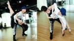 S.T (365) 'tung chiêu' trên sàn tập cùng nữ vũ công chuyên nghiệp nhất thế giới