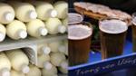 Nghịch lý sữa bò tươi dùng để tắm, bia rẻ tiền độc hại mang ra uống