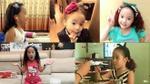 Gia tài băng đô cài tóc siêu khủng của cô bé điệu nhất gia đình 'Bố ơi…'