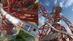 Phấn khích tột đỉnh với đường trượt cao nhất thế giới ẩn mình trong biểu tượng Olympic London