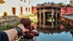 Chàng trai đưa gấu Teddy đi xuyên Việt