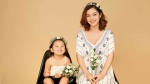 Hoa hậu Jennifer Phạm vui đùa bên con gái trước khi nghỉ sinh