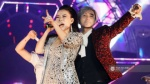 Sơn Tùng M-TP 'bay' hết nấc cùng Thu Minh trong đêm nhạc Wonder Girls