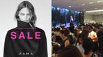 Ngày này cuối cùng cũng đến, Zara Việt Nam 'nghẹt' trong biển người vào đợt giảm giá đầu tiên
